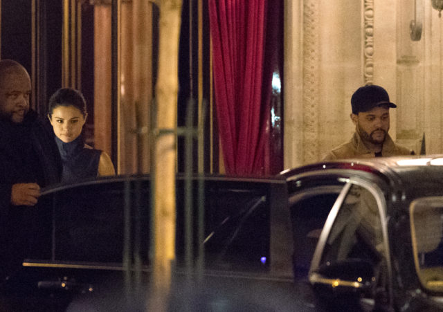 Selena Gomez And The Weeknd Leave Their Hotel For A Date In Paris