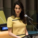 Amal Clooney Urges the United Nations to Back ISIS Investigation