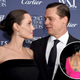 Angelina Jolie and Brad Pitt Were Tattooed by a Monk Together