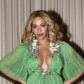 beyonce green dress pregnant baby bump blue ivy jay z beauty and the beast premiere