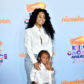 LOS ANGELES, CA - MARCH 11:  Model  Blac Chyna and King Cairo Stevenson at Nickelodeon's 2017 Kids' Choice Awards at USC Galen Center on March 11, 2017 in Los Angeles, California.  (Photo by Frazer Harrison/Getty Images)