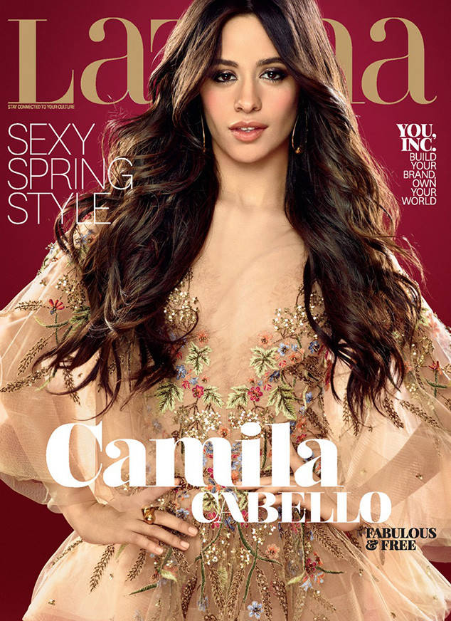 Camila Cabello latina cover