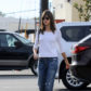 52333288 Model Alessandra Ambrosio was spotted out picking up lunch with her daughter, Anja Louise Ambrosio Mazur in Los Angeles, California on March 3, 2017. . Anja seemed to be in disagreement with her mother as Alessandra went in alone to grab the meal. FameFlynet, Inc - Beverly Hills, CA, USA - +1 (310) 505-9876