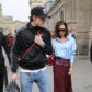 52341488 British fashion designer Victoria Beckham and her son Brooklyn are spotted arriving in Paris, France by Eurostar from London on March 10, 2017. Victoria was rocking a blue dress shirt with a maroon skirt during the fashionable outing. FameFlynet, Inc - Beverly Hills, CA, USA - +1 (310) 505-9876 RESTRICTIONS APPLY: USA ONLY