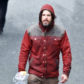 52358782 Actor Casey Affleck was spotted acting and directing on the set of his latest project titled 'Light Of My Life' in Vancouver, Canada on March 27, 2017. Casey stopped to pet a dog and dump out some of his coffee during his busy day of filming. FameFlynet, Inc - Beverly Hills, CA, USA - +1 (310) 505-9876
