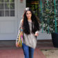 - Los Angeles, CA - 03/27/2017 - Vanessa Hudgens Spotted with the Henri Bendel W57th Hobo  -PICTURED: Vanessa Hudgens -PHOTO by: JOEY ANDREW/startraksphoto.com -JO371155 Editorial - Rights Managed Image - Please contact www.startraksphoto.com for licensing fee Startraks Photo Startraks Photo New York, NY  For licensing please call 212-414-9464 or email sales@startraksphoto.com Image may not be published in any way that is or might be deemed defamatory, libelous, pornographic, or obscene. Please consult our sales department for any clarification or question you may have Startraks Photo reserves the right to pursue unauthorized users of this image. If you violate our intellectual property you may be liable for actual damages, loss of income, and profits you derive from the use of this image, and where appropriate, the cost of collection and/or statutory damages.