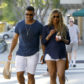 Pregnan t Ciara and Russell Wilson ice cream after car crash
