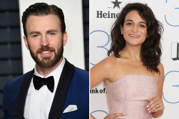 chris evans jenny slate dating split break up
