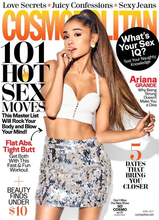 Ariana Grande cosmopolitan april 2017 cover