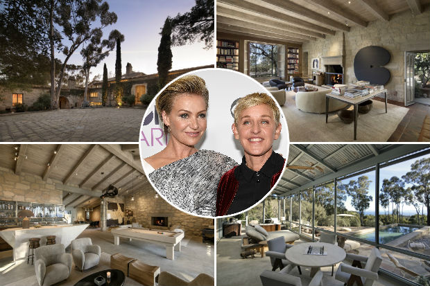 ellen degeneres house 2017 - photo #12