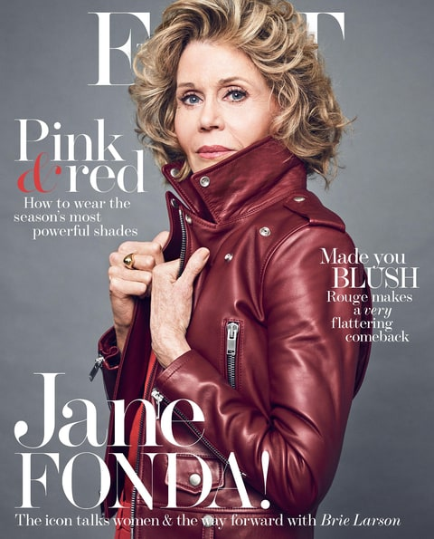 Jane Fonda the edit cover