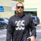Jennifer Lopez and Alex Rodriguez leave the gym