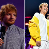 Once, Ed Sheeran Drunkenly Used Justin Bieber's Face as a Golf Tee