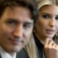 Canadian Prime Minister Justin Trudeau sits alongside Ivanka Trump (R), daughter of US President Donald Trump, during a roundtable discussion on women entrepreneurs and business leaders in the Cabinet Room of the White House in Washington, DC, February 13, 2017. / AFP / SAUL LOEB        (Photo credit should read SAUL LOEB/AFP/Getty Images)