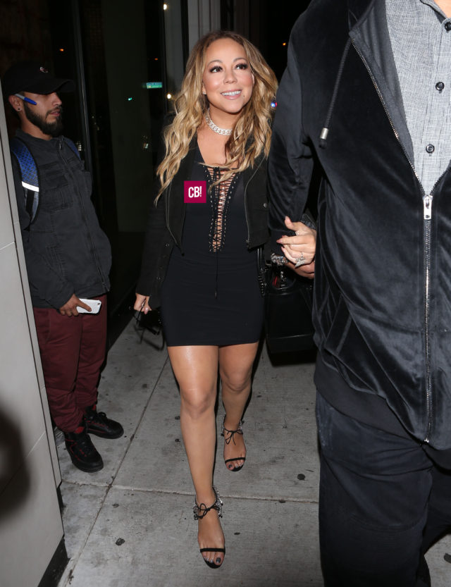 Celebrities At Catch Restaurant In West Hollywood