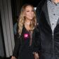 Mariah Carey sheer dress nipple exposed Catch Restaurant