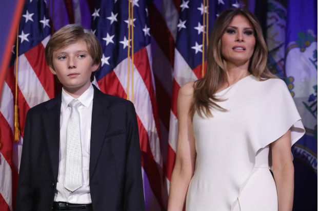 melania barron trump will moving into white house this june