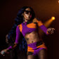 Azealia Banks performs in Australia
