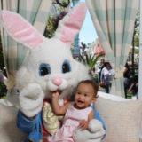 Chrissy Teigen and John Legend's Daughter Meet the Easter Bunny