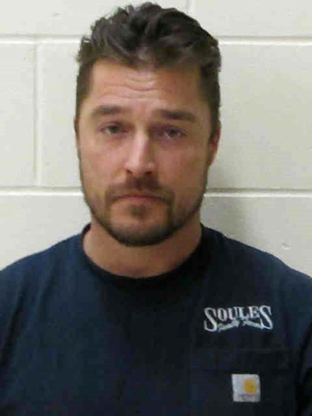 Chris Soules Booking Photo