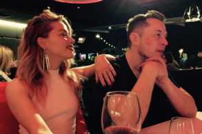 Amber Heard and Elon Musk Make Their Relationship Instagram Official