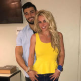 Britney Spears Flaunts Her Bikini Body with Boyfriend Sam Asghari