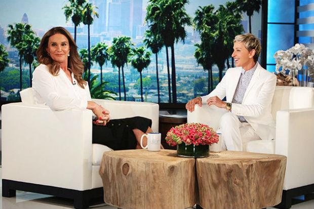 Caitlyn Jenner Ellen DeGeneres