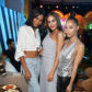 LAS VEGAS, NV - MARCH 31:  (L-R) Chanel Iman, Olivia Culpo and Cara Santana attend the W Las Vegas Grand Opening Celebration on March 31, 2017 in Las Vegas, Nevada.  (Photo by Joe Scarnici/Getty Images for W Las Vegas)
