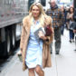 52367248 Actress and singer Hilary Duff is spotted on the set of 'Younger' filming in New York City, New York on April 4, 2017. FameFlynet, Inc - Beverly Hills, CA, USA - +1 (310) 505-9876