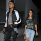 52369563 TV personality Kourtney Kardashian was seen dining out with actor Quincy Brown at a restaurant in West Hollywood, California on April 5, 2017. FameFlynet, Inc - Beverly Hills, CA, USA - +1 (310) 505-9876