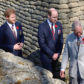 52373321 Prince Charles, Prince of Wales, Prince William, Duke of Cambridge and Prince Harry visit the Canadian National Vimy Memorial in Vimy, near Arras, France, on April 9, 2017, as part of a ceremony to commemorate the 100th anniversary of the Battle of Vimy Ridge, a World War I battle which helped shape the former British colony's national identity as Canada. FameFlynet, Inc - Beverly Hills, CA, USA - +1 (310) 505-9876 RESTRICTIONS APPLY: USA ONLY