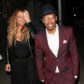 52383237 Estranged couple Nick Cannon and Mariah Carey are spotted leaving Mr Chow in Beverly Hills, California after enjoying dinner with their children Monroe & Moroccan on April 20, 2017. The pair who called it quits in 2014 after six years of marriage, were later spotted at PinkBerry with their growing twins. FameFlynet, Inc - Beverly Hills, CA, USA - +1 (310) 505-9876