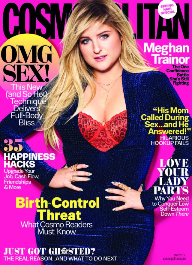 Meghan Trainor cosmopolitan cover