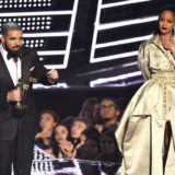 Drake and Rihanna Ran Into Each Other at a Party and It Was Awkward AF