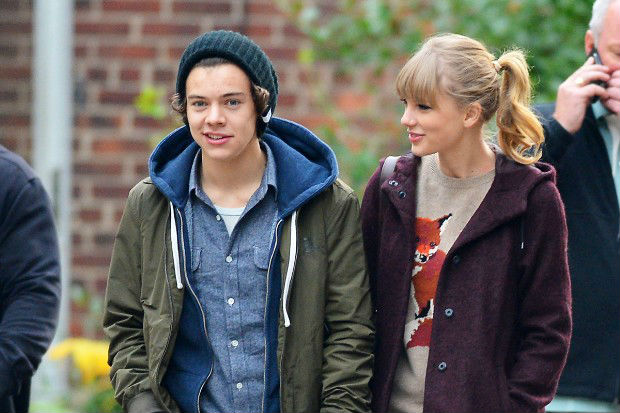 what year did harry and taylor start dating