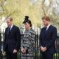 kate middleton prince william harry london terror attack memorial service