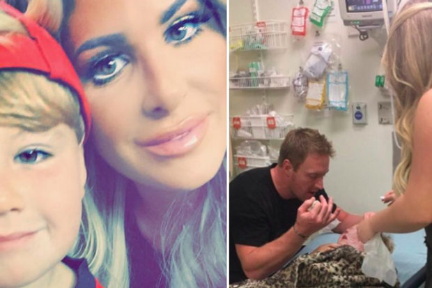 Kim Zolciak's Son Is Rushed to the Hospital After Being Mauled by a Dog