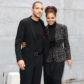 Wissam al Mana and Janet Jackson attend the Giorgio Armani fashion show during Milan Fashion Week Womenswear Fall/Winter 2013/14 on February 25, 2013 in Milan, Italy.