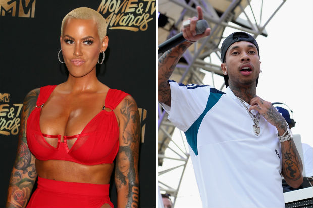 Amber Rose Thinks Tyga's Music Is Utter 'Trash'