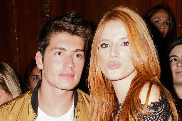 Bella Thorne hugs ex Gregg Sulkin after Scott Disick