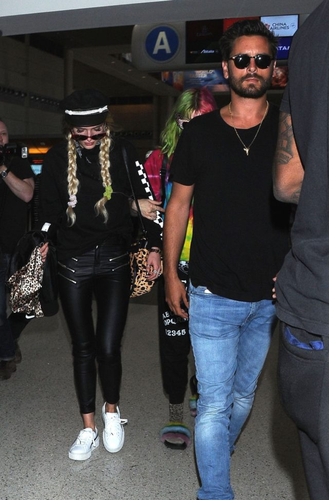 Bella Thorne and Scott Disick jet out of LA together