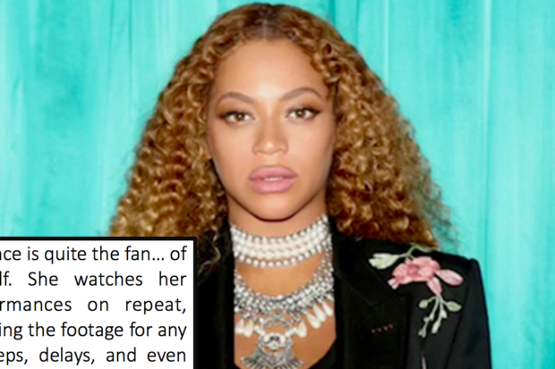 Diary of a Perfectionist: Beyonce's Assistants Tell All