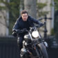 "52392502 Tom Cruise seen shooting a scene from ""Mission Impossible 6"" on a motorcycle in Paris, France on April 30, 2017. FameFlynet, Inc - Beverly Hills, CA, USA - +1 (310) 505-9876 RESTRICTIONS APPLY: USA ONLY"
