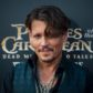 "Actor Johnny Depp arrives for the world premiere of Disney movie ""Pirates of the Caribbean: Dead Men Tell No Tales"" in Shanghai on May 11, 2017. / AFP PHOTO / Johannes EISELE        (Photo credit should read JOHANNES EISELE/AFP/Getty Images)"