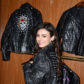 victoria justice pirates of the caribbean leather jacket