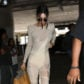 Kendall jenner exposes nipples in sheer crochet knit