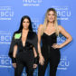 NEW YORK, NY - MAY 15:  Kim Kardashian West (L) and Khloe Kardashian attend the 2017 NBCUniversal Upfront at Radio City Music Hall on May 15, 2017 in New York City.  (Photo by Dia Dipasupil/Getty Images)