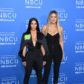 Kim Kardashian West and Khloe Kardashian attend the NBCUniversal 2017 Upfront on May 15, 2017 in New York City.  / AFP PHOTO / ANGELA WEISS        (Photo credit should read ANGELA WEISS/AFP/Getty Images)