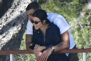 Kourtney Kardashian Packs on PDA with Younes Bendjima