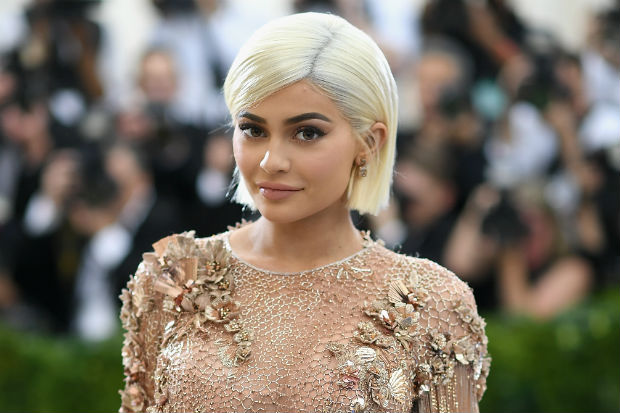 Kylie Jenner Uses Her Housekeeper's Arm for Those Lip Kit Swatch Videos